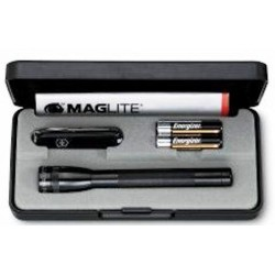 Conj. Canivete Victorinox Classic 0.6223.3 + AA MagLite (Preto)