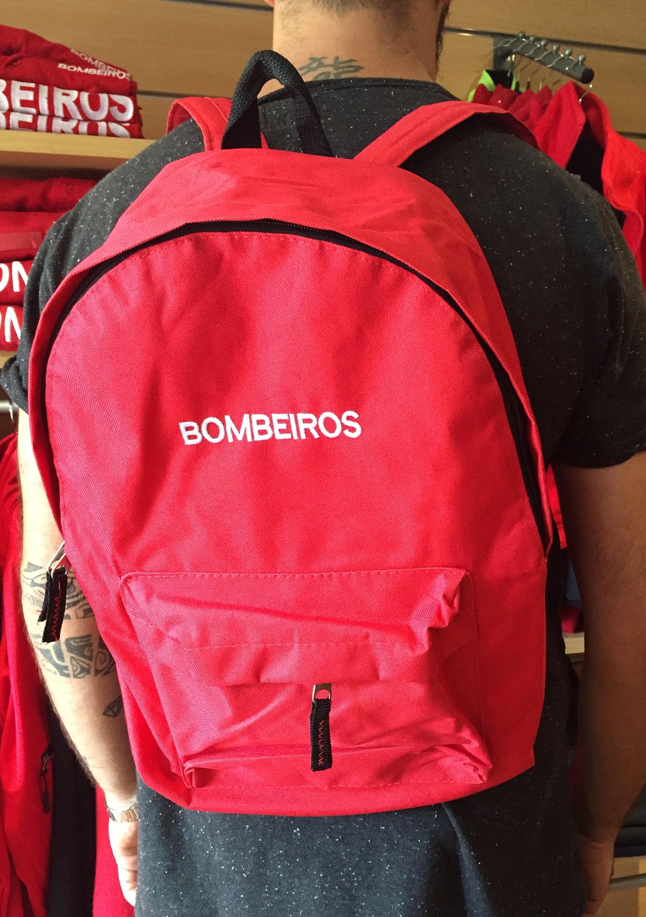 MOCHILA CAMPANHA BOMBEIROS