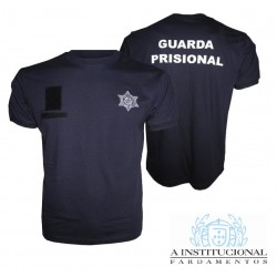 T-shirt Bordada GUARDA PRISIONAL (manga curta)